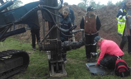 Daemen Milieutechniek begeleidt demonstratieboringen voor Saxion Archeologie