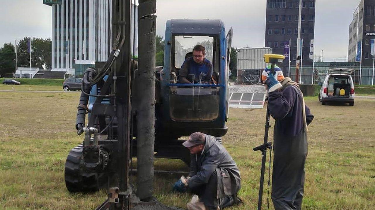 """Archeologisch onderzoek in Europapark naar """"steentijd-mens"""" in Groningen"""
